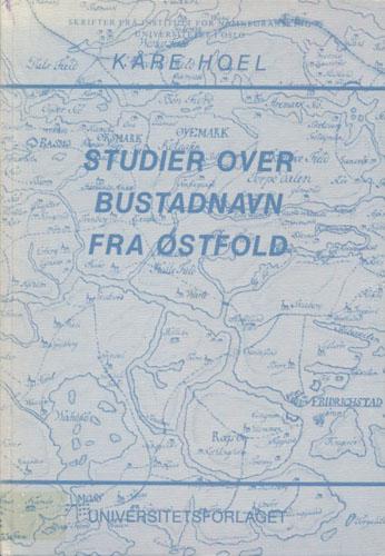 Studier over bustadnavn fra Østfold.