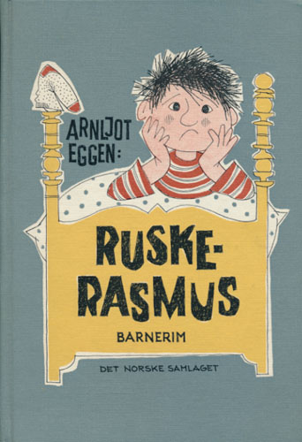 Ruske-Rasmus. Barnerim. Teikningar Grethe Berger.