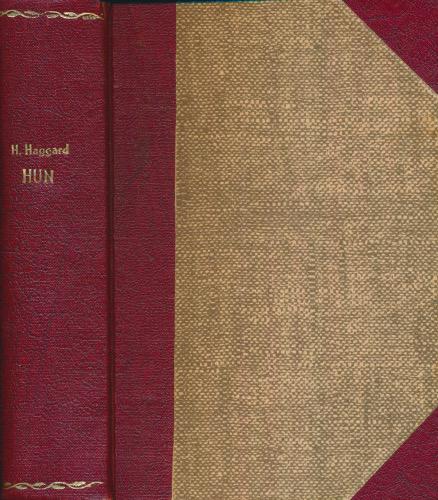 Hun. Af forfatteren autoriseret oversættelse ved P. Jerndorff-Jessen.