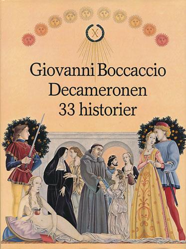 Decameronen. 33 historier i utvalg ved Colin Bennett. Illustrert av Andrew Skilleter.