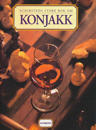 Schibsteds store bok om Konjakk.
