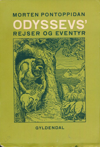 (HOMER, CA. 700 F.KR.) Odyssevs' rejser og eventyr saaledes jeg har fortalt dem for mine børn. Med illustrationer af Niels Skovgaard.