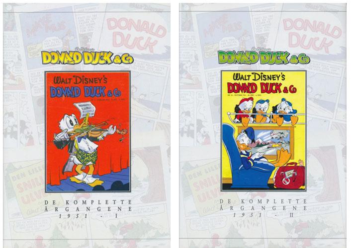 (DISNEY) DONALD DUCK & CO.  De komplette årgangene