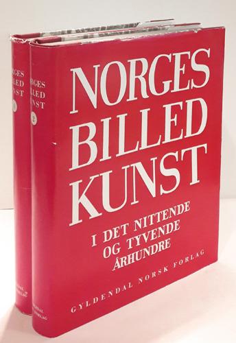 Norges billedkunst i det nittende og tyvende århundre.