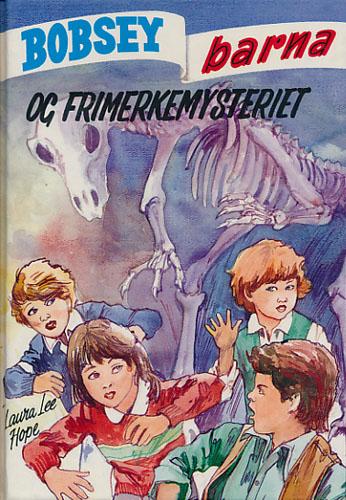 (BOBSEY-BARNA) 76. Bobsey-barna og frimerkemysteriet.