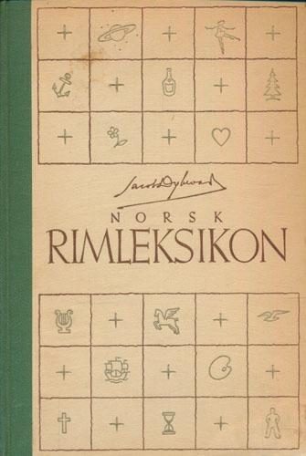 Norsk rimleksikon.