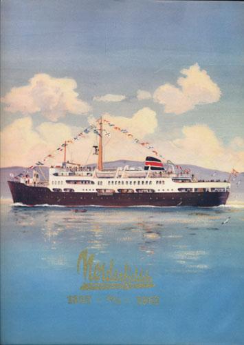 Det Nordenfjeldske Dampskibsselskab. 1857 -28.januar- 1957.