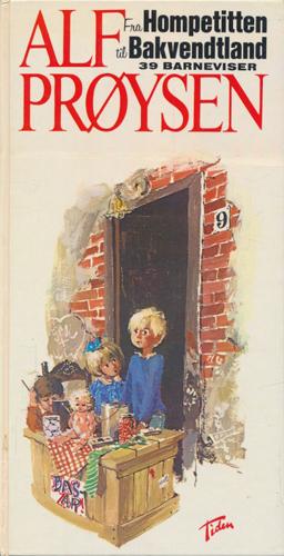 Fra Hompetitten til Bakvendtland. 39 barneviser.