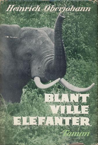 Blant ville elefanter.