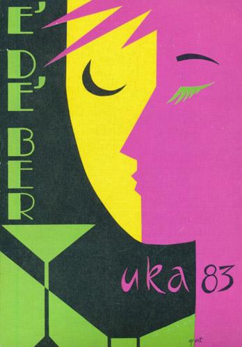 UKA-83. E' DE' BER.  UKE-revyen 1983.