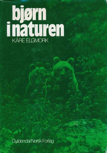 Bjørn i naturen.