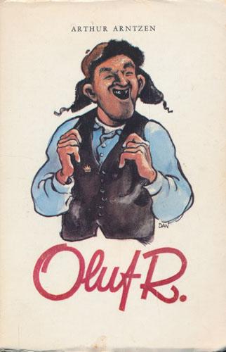 Oluf R. Med tegninger av Dagfinn Bakke.