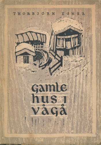 Gamle hus i Vågå.