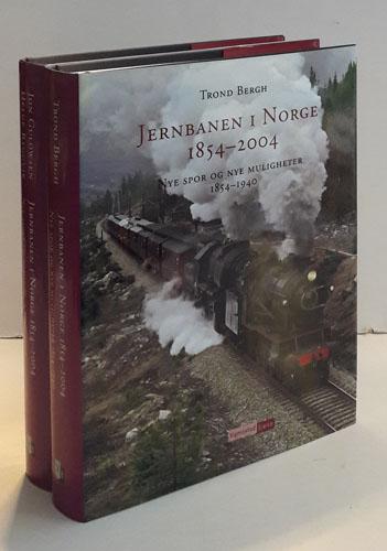 Jernbanen i Norge 1854 - 2004.