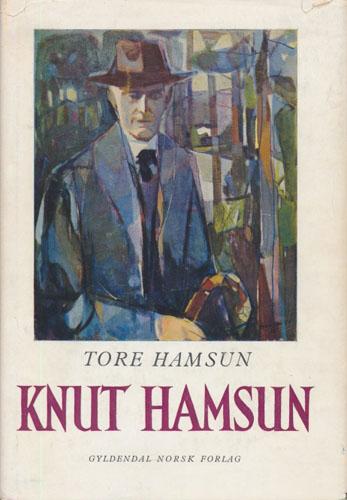 (HAMSUN, KNUT) Knut Hamsun.