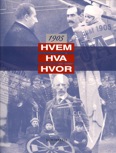 Hvem Hva Hvor 1905.