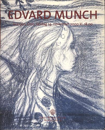 (MUNCH, EDVARD) MUNCH-AUKSJONEN 2000.  The Annual Norwegian Edvard Munch Sale Initiated by Grev Wedels Plass Auksjoner - Oslo.