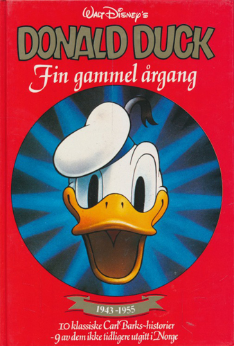 (DISNEY) Donald Duck. Fin gammel årgang. (1943-1955).