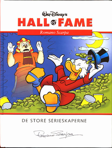 (DISNEY) WALT DISNEY'S HALL OF FAME:  Romano Scarpa.