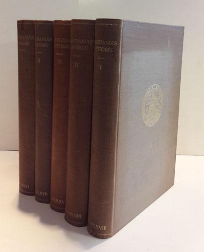 KRISTIANIAS HISTORIE.  Utgitt til 300-aars jubileet 1924.
