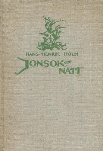 Jonsok-natt. Teikningar av Frøydis Haavardsholm.