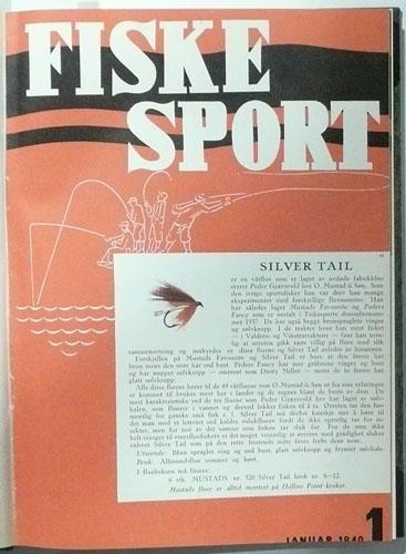 FISKESPORT.  6. årgang. Organ for Norges sportsfiskerforbund.