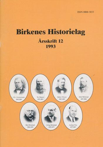 BIRKENES HISTORIELAG.  Årsskrift