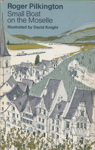 Small Boat on the Moselle. Illustrated by David Knight.