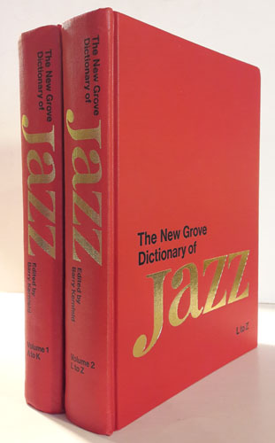 The New Grove Dictionary of Jazz.