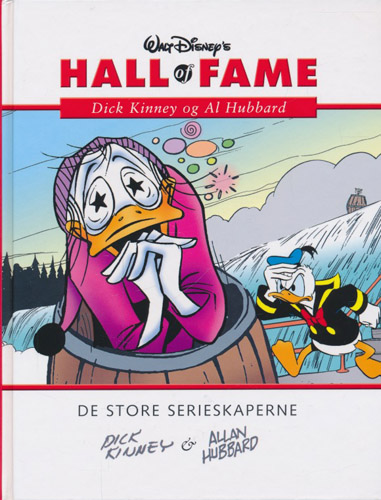 (DISNEY) WALT DISNEY'S HALL OF FAME:  Dick Kinney og Al Hubbard.