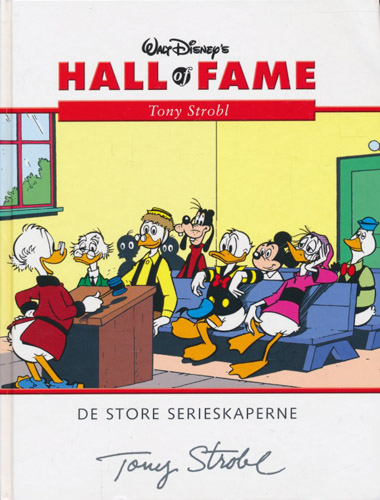 (DISNEY) WALT DISNEY'S HALL OF FAME:  Tony Strobel.