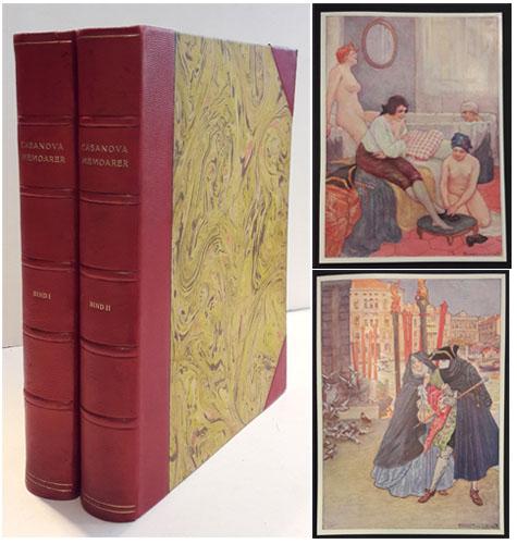 Memoarer. Med inlednign av Franz Blei. Svens översättning av I.B.