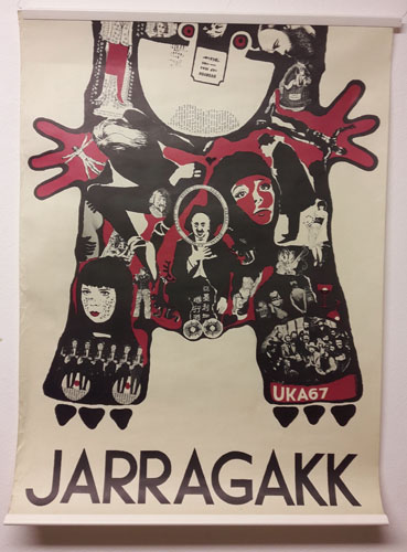 UKA-67. JARRAGAKK.  Original plakat (medfølgende programhefte).