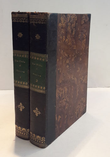 The Poems of Ossian. Translated by -. In Two Volumes.