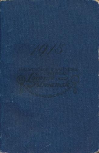 ALMANAKK.  For aaret efter Kristi fødsel 1918.