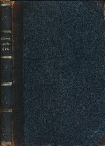 Militærkalender for Den norske hær og marine. 1914.