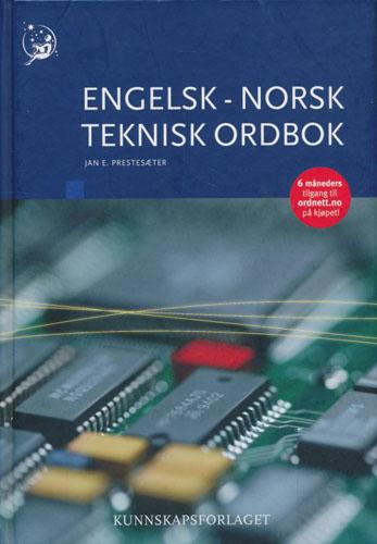 Engelsk-norsk teknisk ordbok.