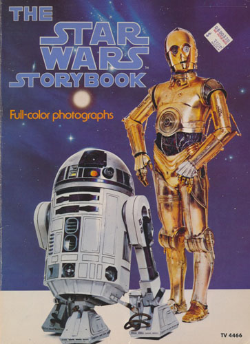 THE STAR WARS STORYBOOK.