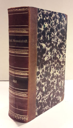 DANSK MAANEDSSKRIFT.  Redigeret og udgivet af M.G.G. Steenstrup.