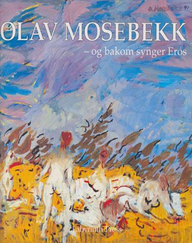 (MOSEBEKK, OLAV) Olav Mosebekk i samtale med Arvid Møller.