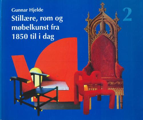 Stillære, rom og møbelkunst. Fra 1850 til i dag.