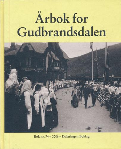 ÅRBOK FOR GUDBRANDSDALEN.  Utgjevar: Dølaringen og Gudbrandsdal Historielag.