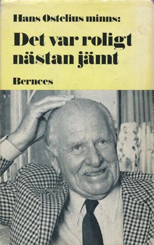 Hans Ostelius minns: Det var roligt nästan jämt. Teckningar av Vagn Jakobsen.