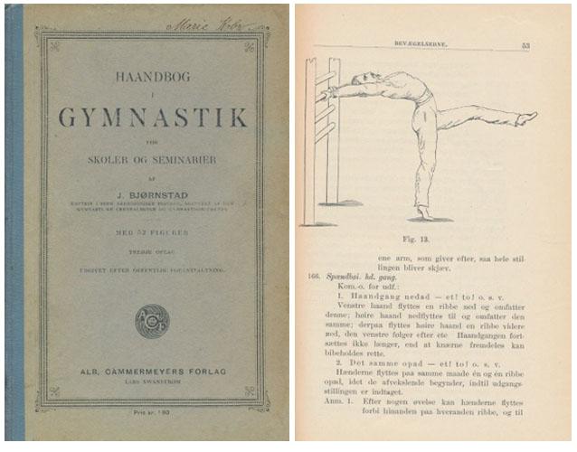 Haandbog i gymnastik for skoler og seminarier af -.