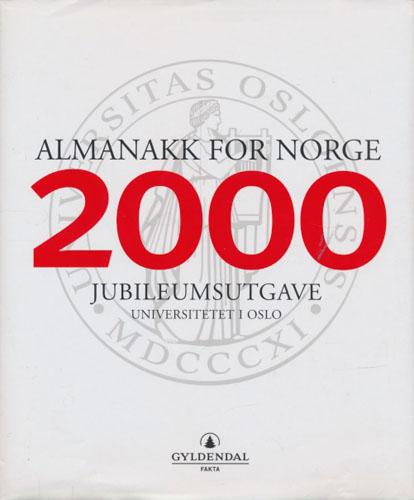 ALMANAKK FOR NORGE.  2000. Jubileumsutgave.