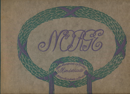 NORGE.  Mindeblade 1814-1914.