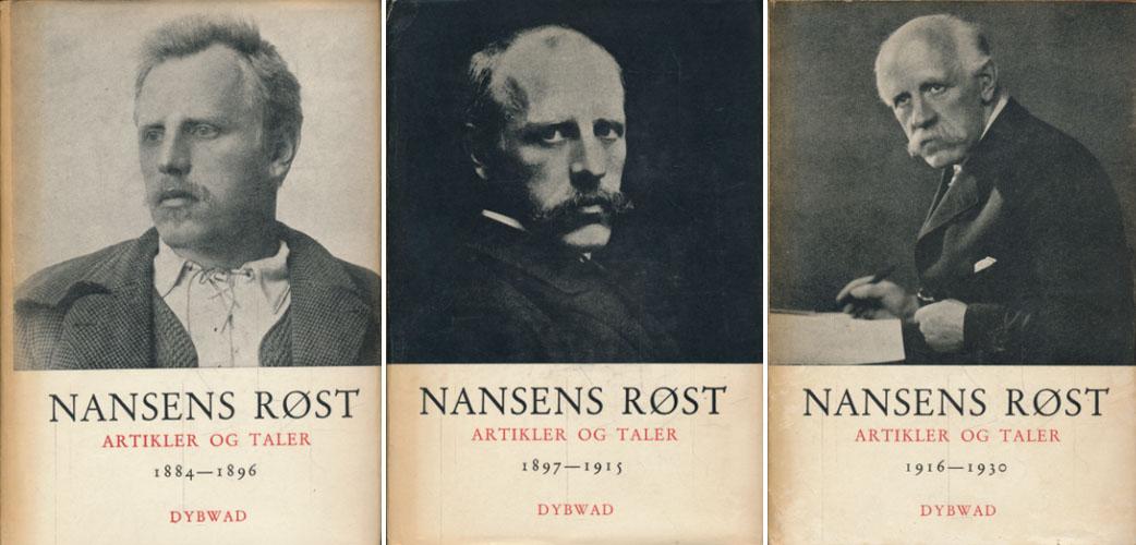 Nansens røst. Artikler og taler.