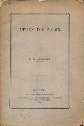 Aten før Solon.
