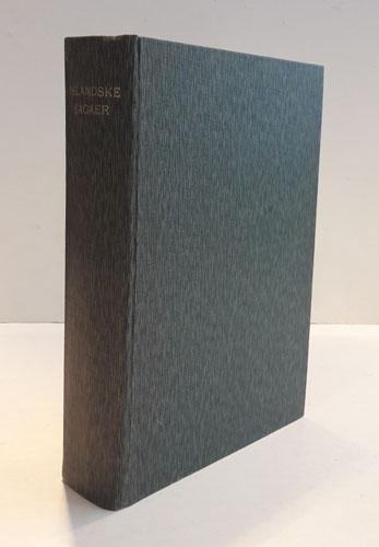 (ISLANDSKE SAGAER) EGILS SAGA,  eller fortælling om Egil Skallagrimsson. / EYRBYGGJA SAGA og LAKSDØLA SAGA eller fortellingen om Eyrbyggerne og Laksdølerne. /FORTÆLLINGERER om Vatnsdølerne - Gisle Sursen - Gunlaug Ormstunge - Gretter den stærke. Efter de islandske grundskrifter ved N.M. Petersen.