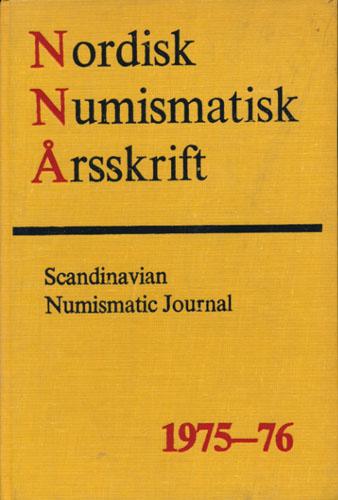 NORDISK NUMISMATISK ÅRSSKRIFT.